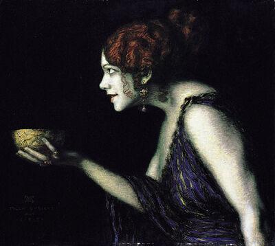 Franz von Stuck Tilla Durieux als Circe