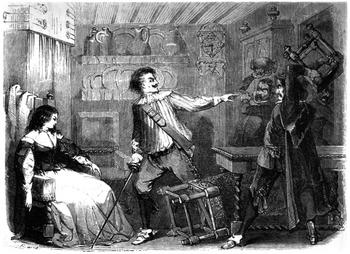 Dumas - Les Trois Mousquetaires - 1849 - page 088 - b&w