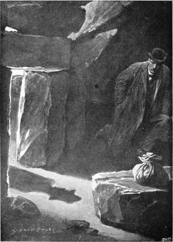 Houn-42 - Frontispiece (Hound of Baskervilles)