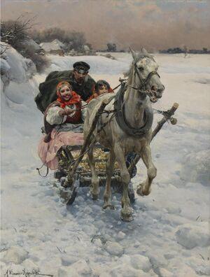 Alfred Wierusz-Kowalski - Wesoła jazda