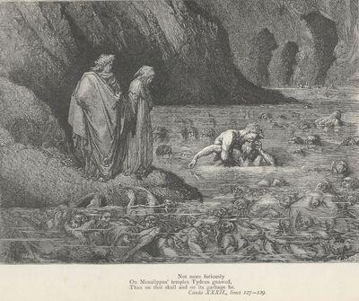 Inferno Canto 32 verses 127-129