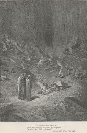 Inferno Canto 9 verses 124-126