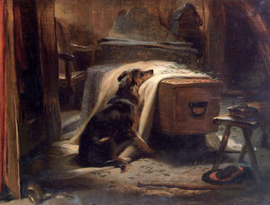 Landseer Edwin-Old Shepherds Chief Mourner 1837