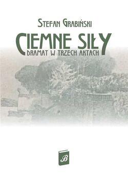 Stefan Grabiński - Ciemne siły (cover page)