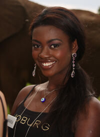 Miss Angola 08 Brigith dos Santos