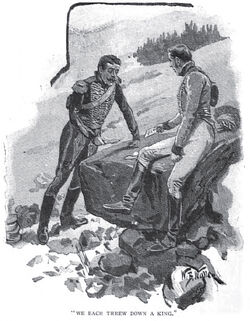 'How the Brigadier Held the King' by William Barnes Wollen 8