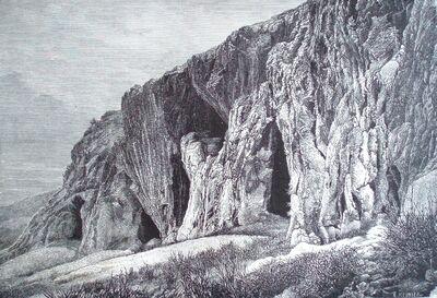 Grotte des Baoussé Rossé (Rochers Rouges) à l'est de Menton 2