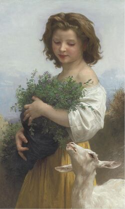 William Adolphe Bouguereau - La Petite Esméralda