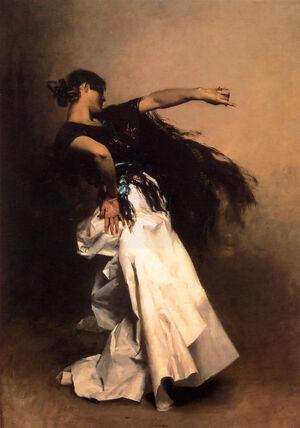 Sargent John Singer Spanish Dancer