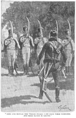 'How the Brigadier Joined the Hussars of Conflans' by William Barnes Wollen 7