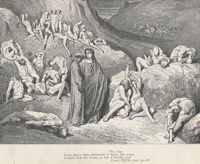 Inferno Canto 29 verses 79-81
