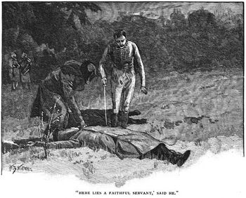 'How the Brigadier Slew the Brothers of Ajaccio' by William Barnes Wollen 9