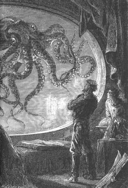 'Twenty Thousand Leagues Under the Sea' by Neuville and Riou 107