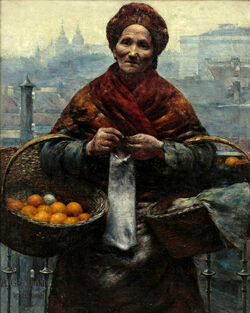 Aleksander Gierymski Żydówka z pomarańczami