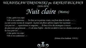 W. Tarnowski - Nuit claire (Noc jasna)