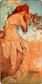 Alfons Mucha - 1896 - Summer