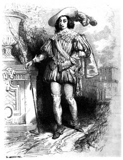 Dumas - Les Trois Mousquetaires - 1849 - page 050 - b&w
