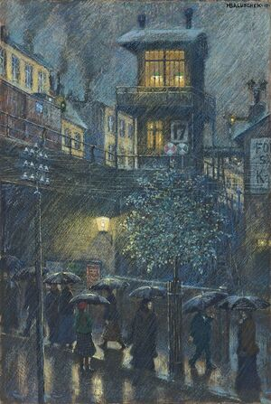 Baluschek Regen