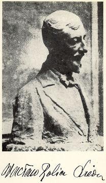 Wacław Rolicz-Lieder (bust & signature)