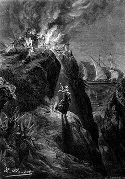 'The Archipelago on Fire' by Léon Benett 09