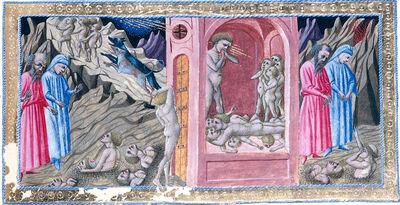 Inf. 33 Conte Ugolino, Giovanni di Paolo (c.1403–1483)