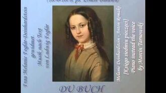 W. Tarnowski - Du Buch mit sieben Siegeln - piano instead the voice