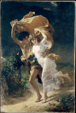 1880 Pierre Auguste Cot - The Storm