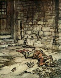 Young Beckie by Arthur Rackham
