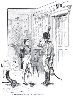 'How the Brigadier Slew the Brothers of Ajaccio' by William Barnes Wollen 3