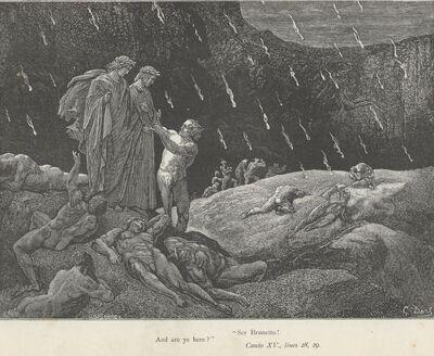 Inferno Canto 15 verses 28-29