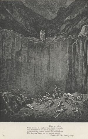 Inferno Canto 29 verses 52-56