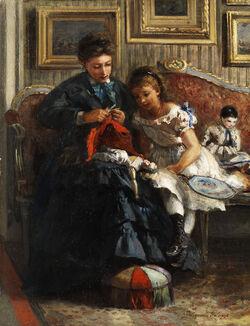 Pietronella Peters Das neue Puppenkleid