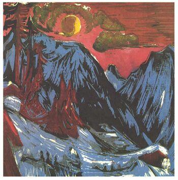 Kirchner - Mondnacht