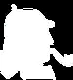 Sherlock Holmes - white 2