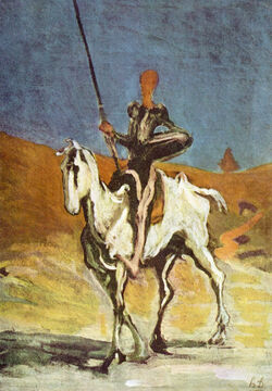 Honoré Daumier 017 (Don Quixote)