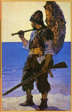 Robinson Crusoe Wyeth 1920