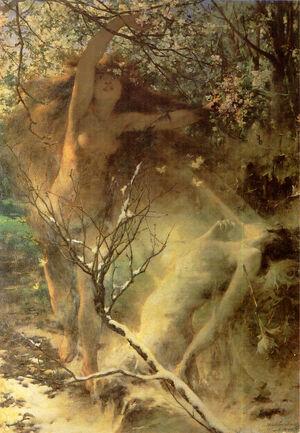 Witold Pruszkowski Wiosna 1887