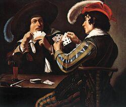 Theodoor Rombouts - Joueurs de cartes