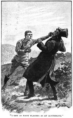 'How the King Held the Brigadier' by William Barnes Wollen 7