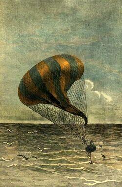 'A Drama in the Air' by Émile Bayard 4