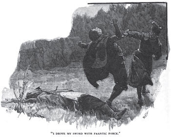 'How the Brigadier Slew the Brothers of Ajaccio' by William Barnes Wollen 6