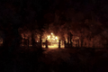 Przez bramę nocą