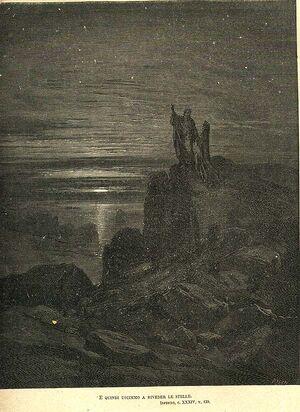 Inferno Canto 34, Gustave Dorè 3