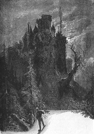 'The Carpathian Castle' by Léon Benett 32