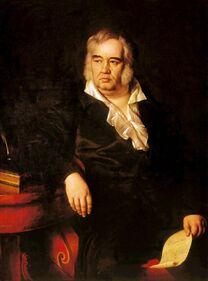Eggink-Portrait of Ivan Krylov