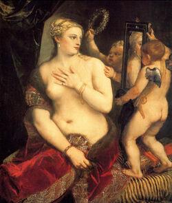 Titian Venus Mirror (furs)