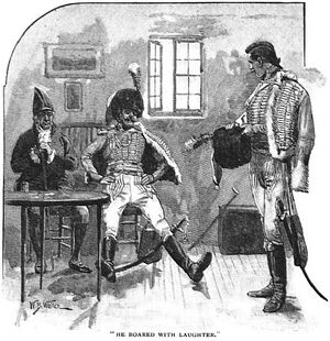 'How the Brigadier Slew the Brothers of Ajaccio' by William Barnes Wollen 2