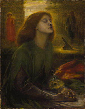 Dante Gabriel Rossetti - Beata Beatrix, 1864-1870