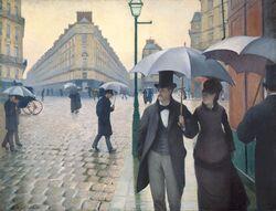 Gustave Caillebotte - Jour de pluie à Paris