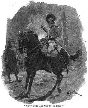 'How the Brigadier Held the King' by William Barnes Wollen 6